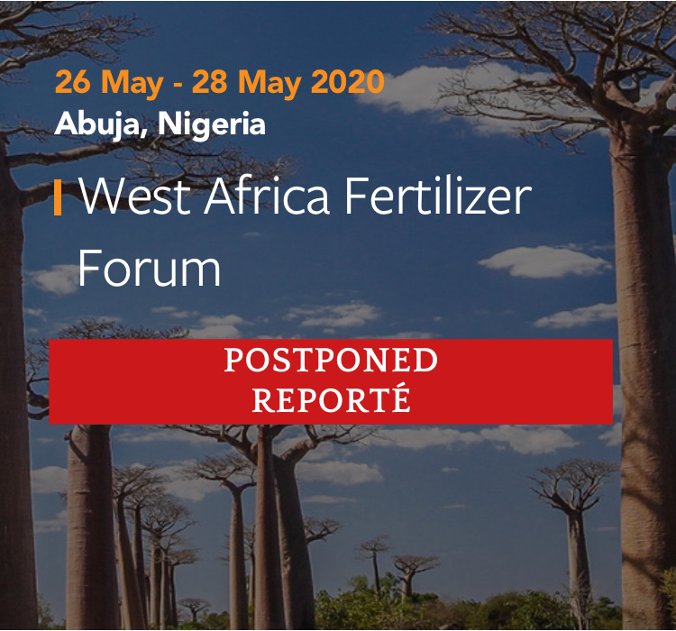Postponement of West Africa Fertilizer Forum 2020