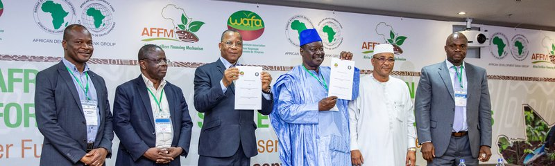 Signing of memorandum of understanding between ECOWAS and West African Fertilizer Association